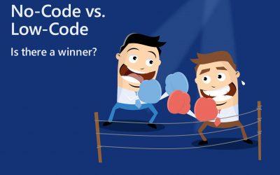 No-code vs. low-code platform