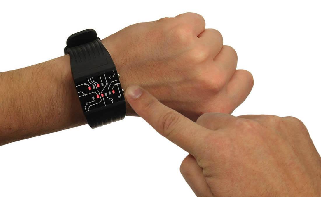 Gift idea: Binary Wrist Watch