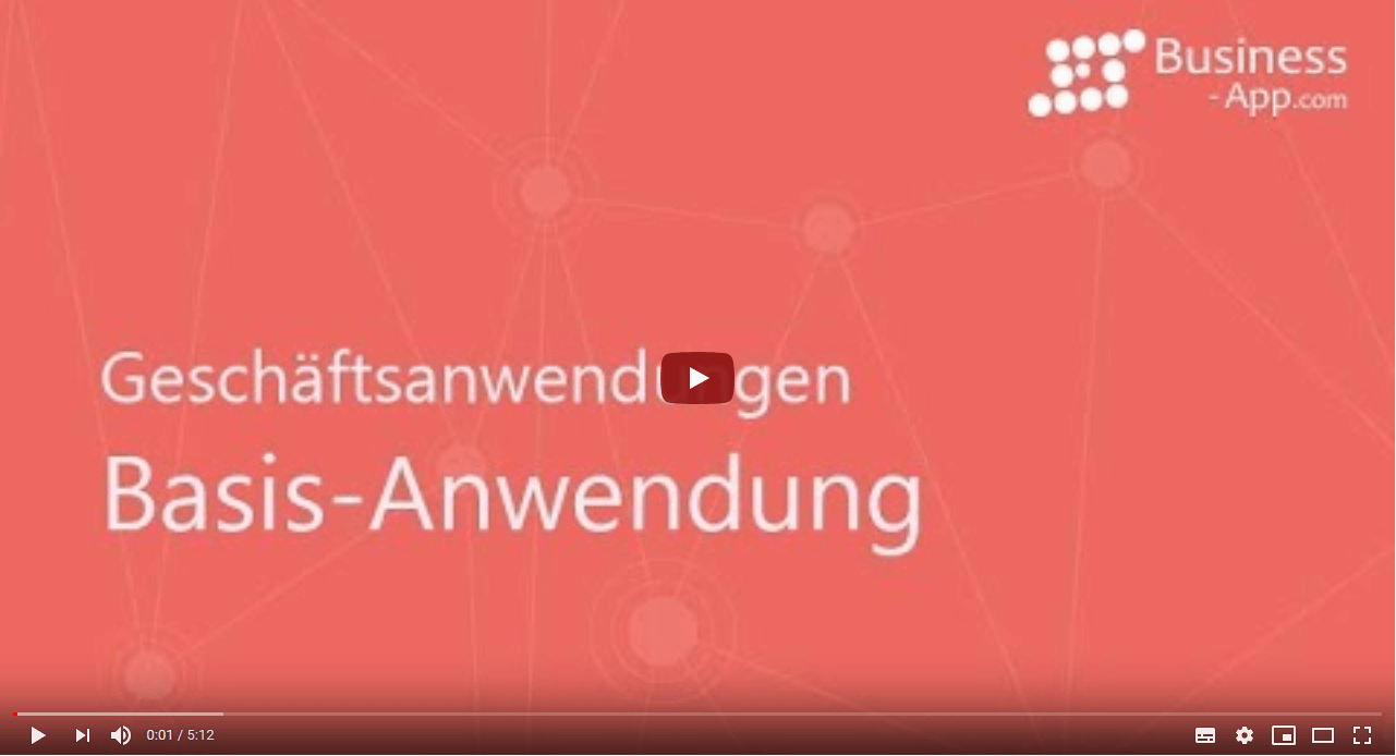 Business App Business Applications Video, GEDYS-IntraWare